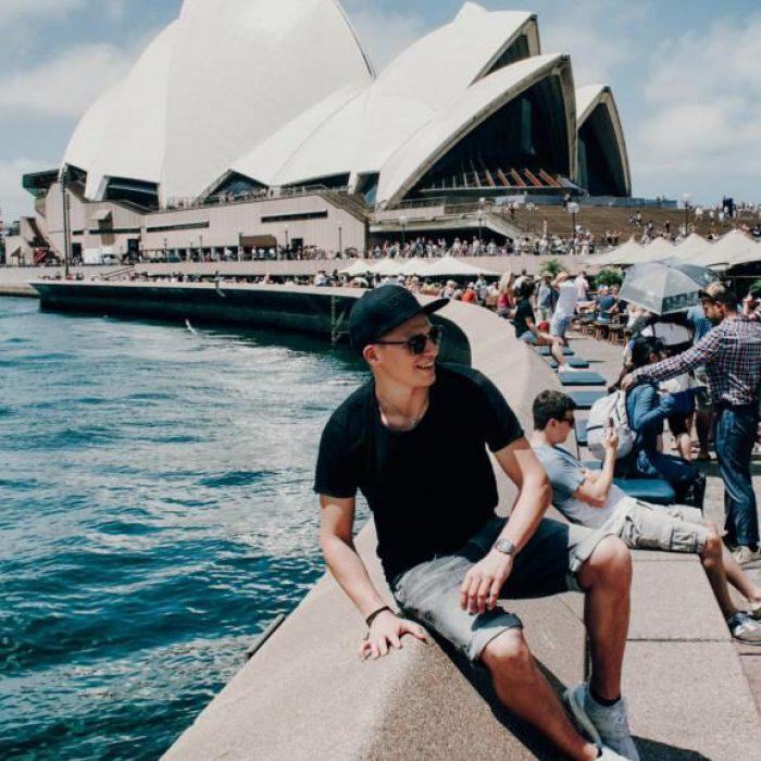Circular Quay - Blick Opernhaus Sydney